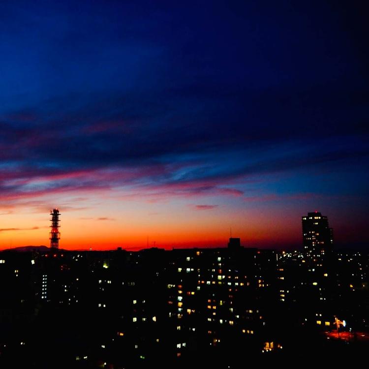 空の色 10月4日