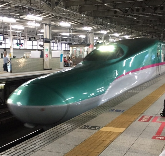 新幹線の速度